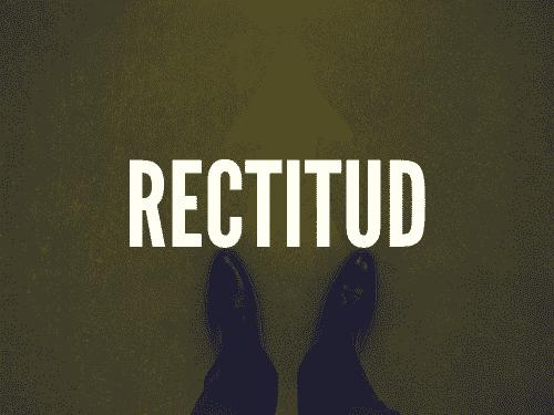 Rectitud
